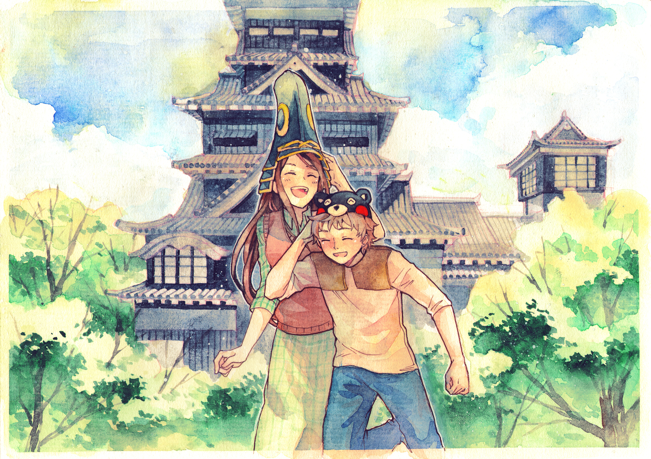 roomuninstall/Smiling Kumamoto by roomuninstall