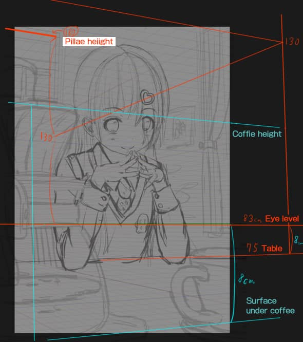 CLIP STUDIO draw perspective